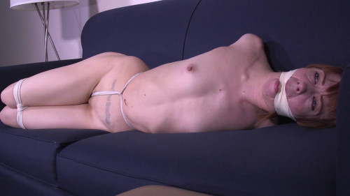 BDSM Alexa Nova-College Coed held captive and tied up naked