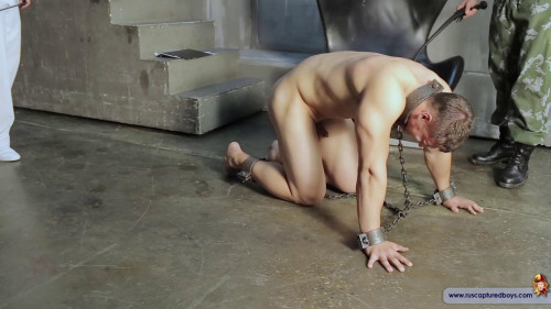 Gay BDSM Robber Andrei in Slavery Part One (2016)