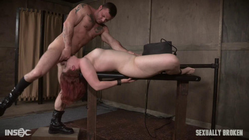 BDSM Kel Bowie is the girl next door bound
