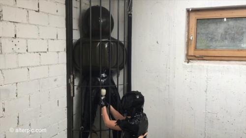BDSM Latex Anna Rose - Trapped