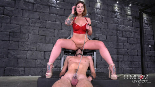 Femdom and Strapon Orgasms For ME, Chastity For You