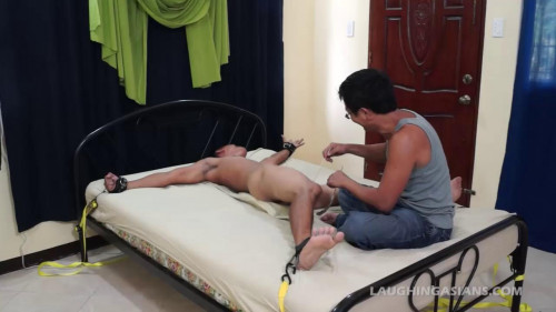 Gay BDSM Hot Diego Tied And Tickled