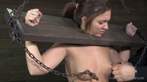 BDSM Bondage and Breath Play Make Maddy Cum