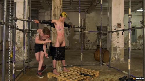 Gay BDSM Trans Boy Olly Gets A Buzzing!