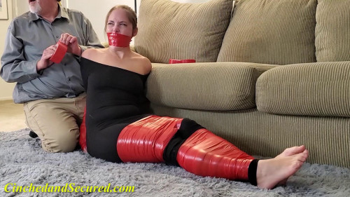 BDSM Cinched And Secured - Rachel gwen tape