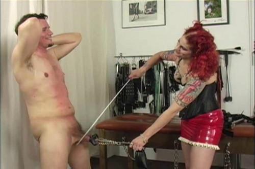 Femdom and Strapon Latex Rubber - Amazonen Aphrodite - Domination HD