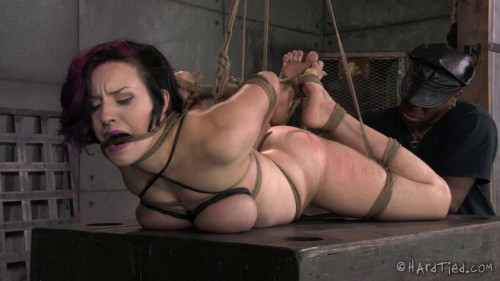 BDSM Incredible Rope Bondage Takes Iona Grace to the Next Level