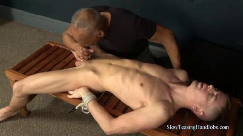 Gay BDSM Bruno Curls His Toes