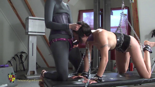 BDSM Chained, Cuffed and Caned