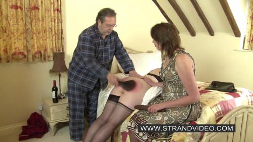 BDSM English-spankers - The Dishonest Nurse Double Paddled