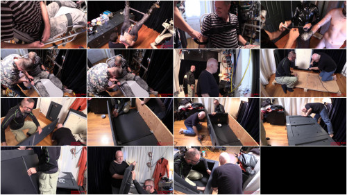 Gay BDSM Bondage Clips Make Your Bed - Full Movie - HD 720p