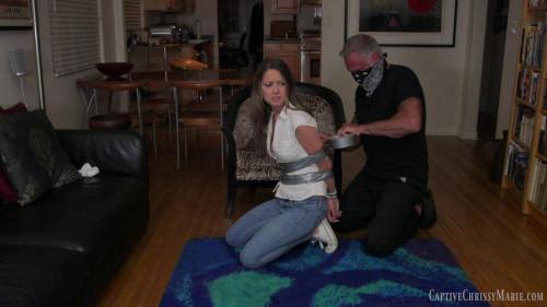 BDSM Tightly Tape Bound Burglary