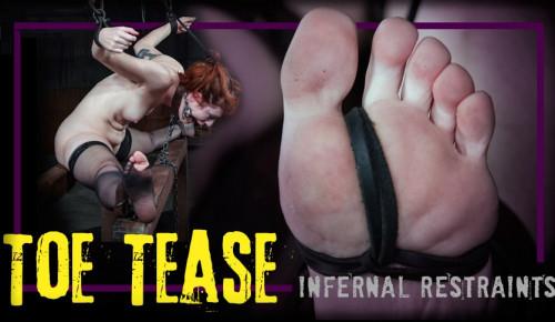 BDSM Toe Tease - Barbary Rose
