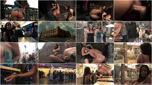 BDSM Best Of Europe: Angelica Heart Big Tits, Public Bondage, & Humiliation