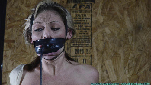 BDSM Courtney Mummified Gag Doll pt.2