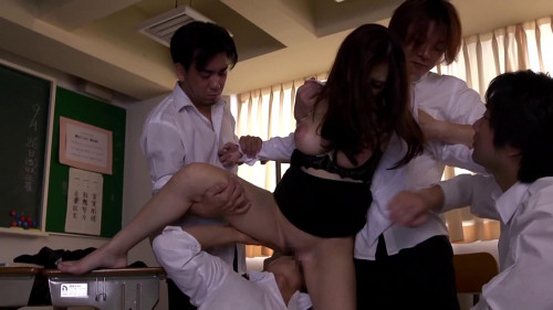 Dominate Gangbang For Asian Teacher Julia