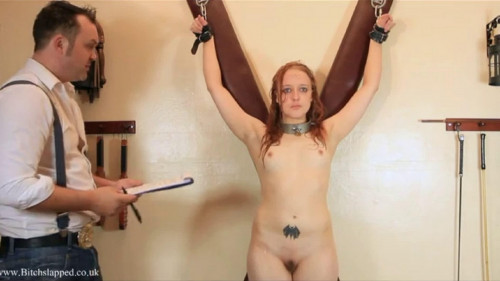BDSM Bondage, spanking and domination for hot naked bitch part1 HD 1080p