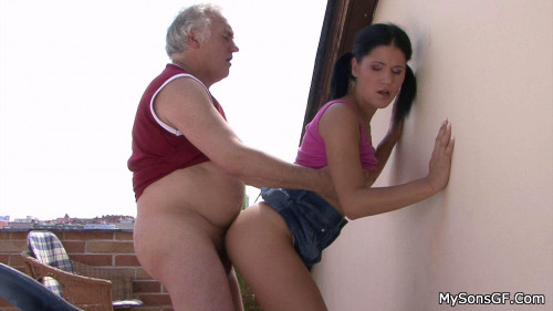 Jenny - Bf's  Got Lucky after Abusing Himself