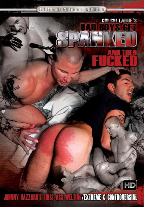 Gay BDSM Bad Boys Get Spanked and Then Fucked