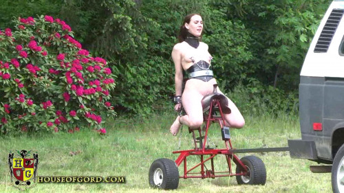BDSM Houseofgord - German Powered Saddle Fucking Machine