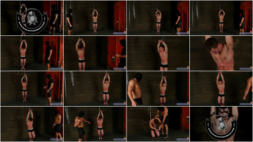 Gay BDSM RusCapturedB - Interrogation of Robber Slava. Final