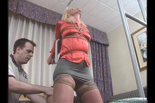 BDSM Dani Punished by Her Pimp  Part 1
