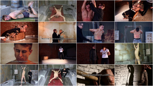 Gay BDSM Super Hot Collection 2017. 50 Best Clips Ruscapturedboys. Part 3.