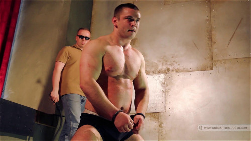 Gay BDSM The trainer for Sergeant