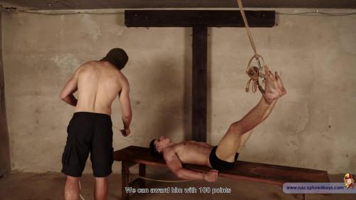 Gay BDSM Prisoners Competition - Vasya - Part II
