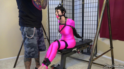 BDSM Strapped Up Foot Show