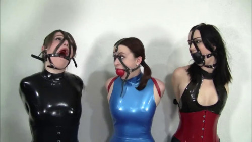 BDSM Latex Super bondage and domination for beautiful girls in latex