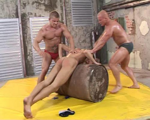 Gay BDSM 7  Best Clips WrestleHard . Part 3.