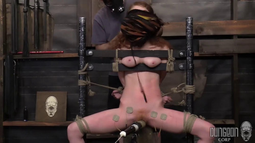 BDSM Bondage, spanking and torture for sexy hot slavegirl part 2