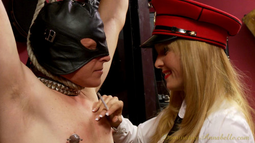 Femdom and Strapon Dominatrix Annabelle Sweet Full Magic Cool Perfect Collection. Part 3.