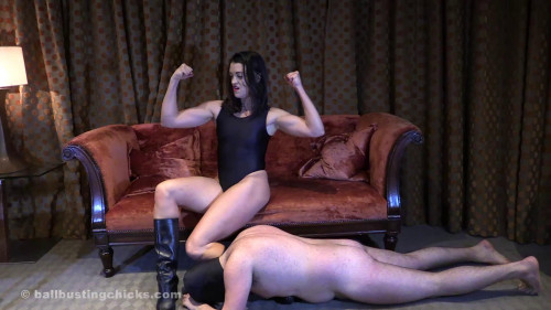 Femdom and Strapon Ballbustingchicks - Hunteress - I Got You By The Balls
