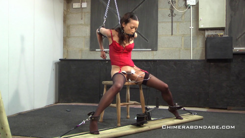 bdsm Skinny slave electric