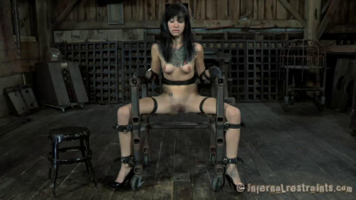 BDSM InfernalRestraints  Boxed and Stocked Juliette Black