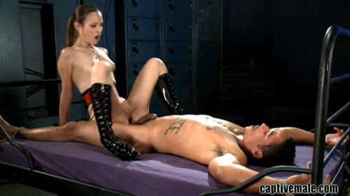 Femdom and Strapon Captive Male Hot Sweet The Best Excellent Unreal Collection. Part 3.