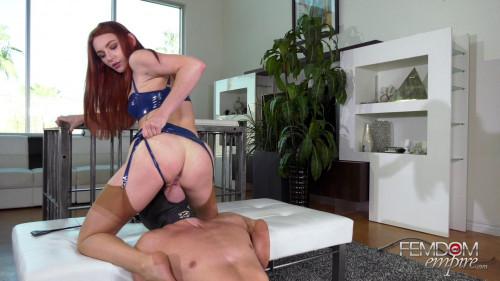 Femdom and Strapon Greedy Sex Fiend