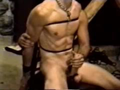 Gay BDSM Roped and Tormented