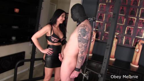 Femdom and Strapon Hardcore Bondage Kissing