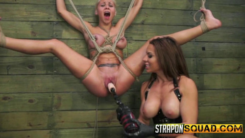 Fisting and Dildo Marsha May and Kylie Rogue