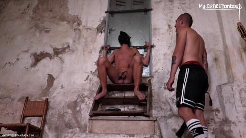 Gay BDSM Electrified Agony Scene 1