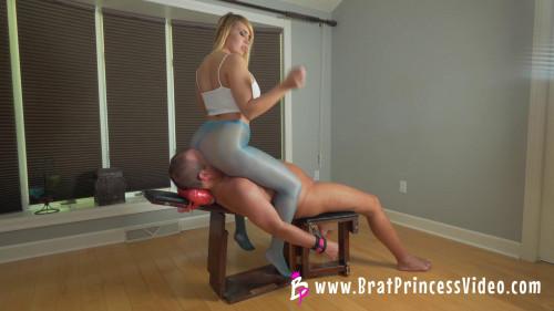 Femdom and Strapon Natalya Vega - Face Sitting Bootcamp