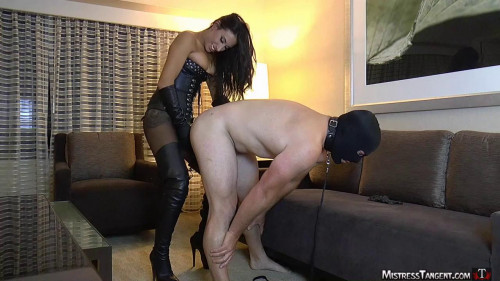 Femdom and Strapon Cruel and beautiful mistress part 3