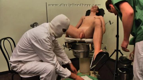 Gay BDSM Discipline4Boys - Perverse Doctors 1