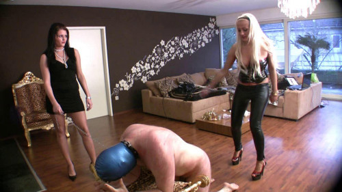 Femdom and Strapon Violent Whips and Extreme Pain