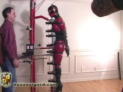 BDSM Latex Playing around with Eden