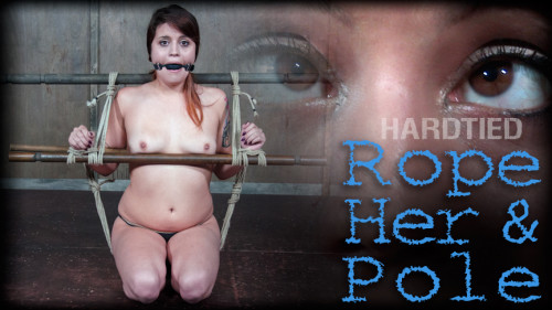 BDSM Rope Her And Pole - Raquel Roper