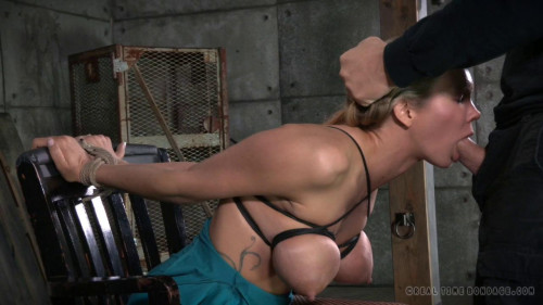 BDSM Rain DeGrey used hard and rough in all three holes!
